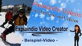 Explaindio Video Creator Beispiel - Video erstellen