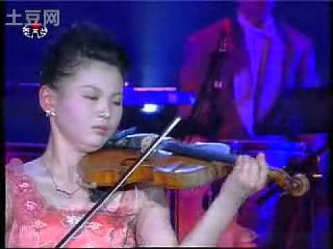 N. Korean Violinist - Zigeunerweisen OP. 20 (Pablo de Sarasate) 吉普赛之歌 - 鲜于香姬
