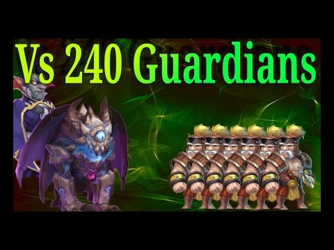 New Hero Ghoulem And Vlad Vs 240 Gardians