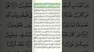 Qur'on tilovati sahifa-sahifa Baqara surasi 14-sahifa