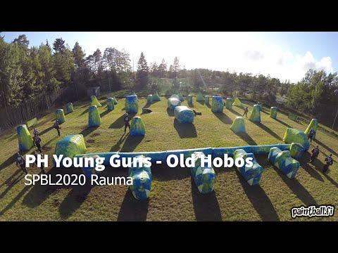 PH Young Guns vs Old Hobos - SPBL2020 Rauma