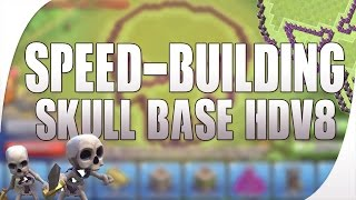 BEST BASE EVER ?! | SPEED-BUILDING TH8 | Clash of Clans