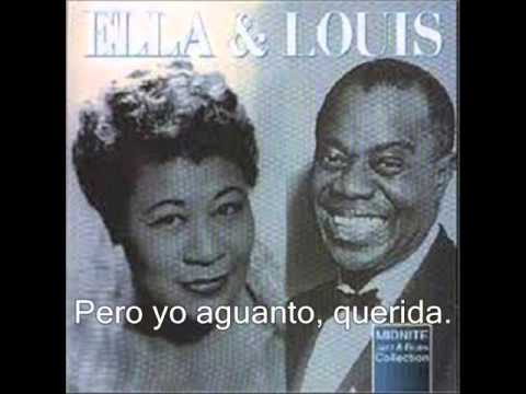 Ella Fitzgerald & Louis Armstrong-Dream A Little dream of me (subtitulada)