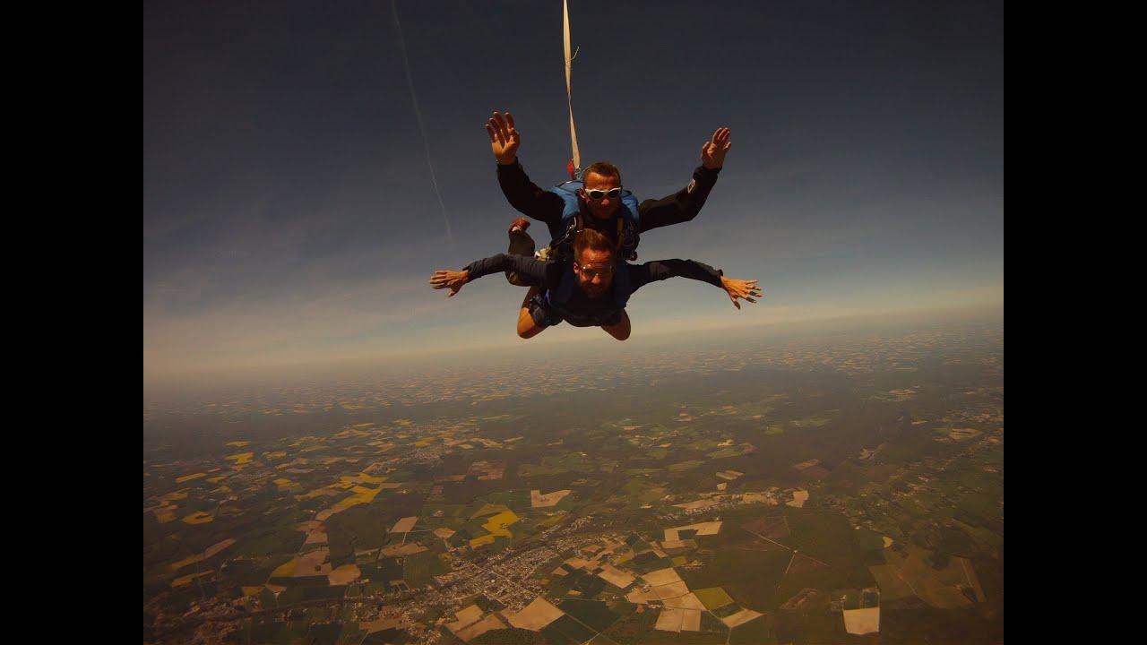 saut en parachute orleans