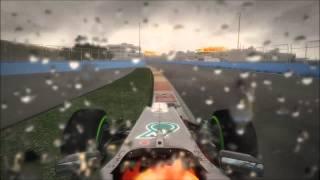 F1 2012 | Racenet Event | Europe- Valencia | Wet | 1:47:211 | SK Gameplay