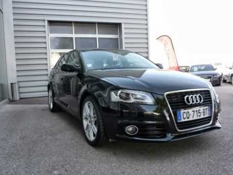 audi a3 sportback 2 0 tdi 140 cv s line 2013 occasion youtube. Black Bedroom Furniture Sets. Home Design Ideas