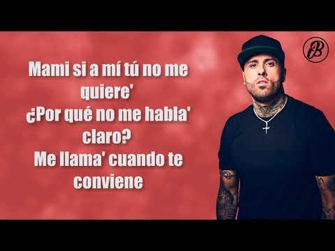 Te Robaré - Nicky Jam x Ozuna (LETRA)