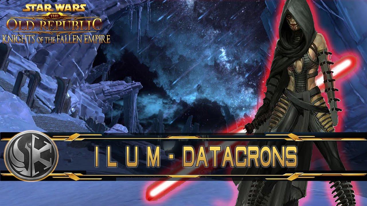 Datacron Guide Patch 40 Ilum Imperium Lets Play Swtor