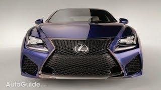 2014 Lexus RC-F Official Reveal - 2014 Detroit Auto Show thumbnail