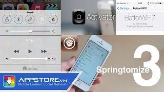 [Cydia Tweak] Top 8 tweak cần thiết cho iOS 8