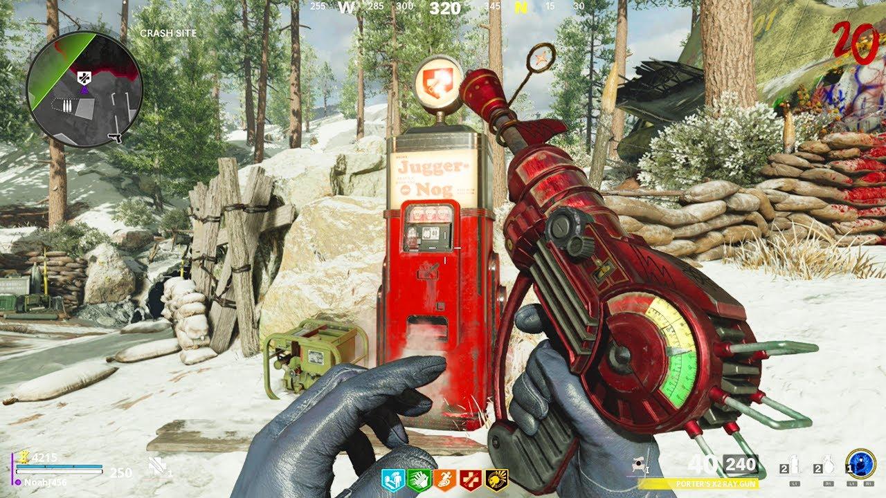 BLACK OPS COLD WAR ZOMBIES - RAY GUN & WONDER WEAPON GAMEPLAY!