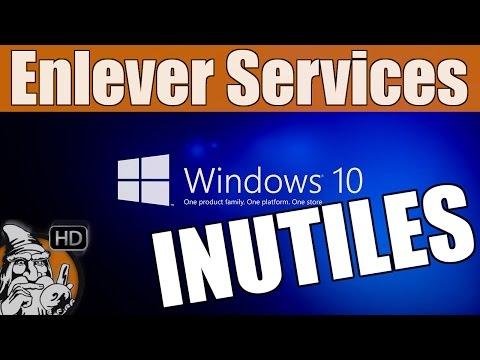 WINDOWS 10 - Désactiver les services inutiles - TUTO #03
