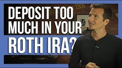 Excess contribution in your Roth IRA? What to do?