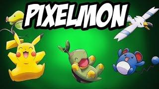 Pixelmon Survival Server dla widzów #01 Witam wszystkich