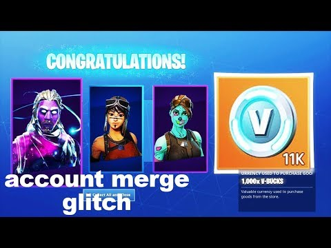 I tried a SKIN TRANSFER glitch in Fortnite and got this.. thumbnail