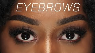 how to perfect eyebrows   faded baddie instagram brows beginner friendly tutorial l 101 pro tips