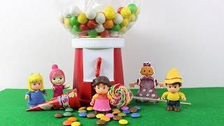 Maşa Büyük Şeker Makinesi Açıyor Heidi Clara Peter Ve Bebe Şeker Alıyor Çizgi Film İzle