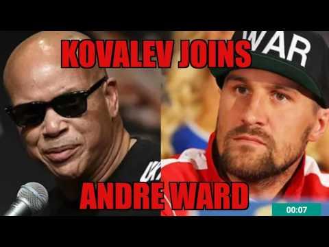 KOVALEV JOINING TEAM WARD/ HUNTER?