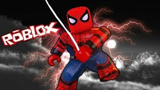 ROBLOX: I TURNED the SPIDER MAN!!! Spider-Man Simulator ‹ Murilo ›