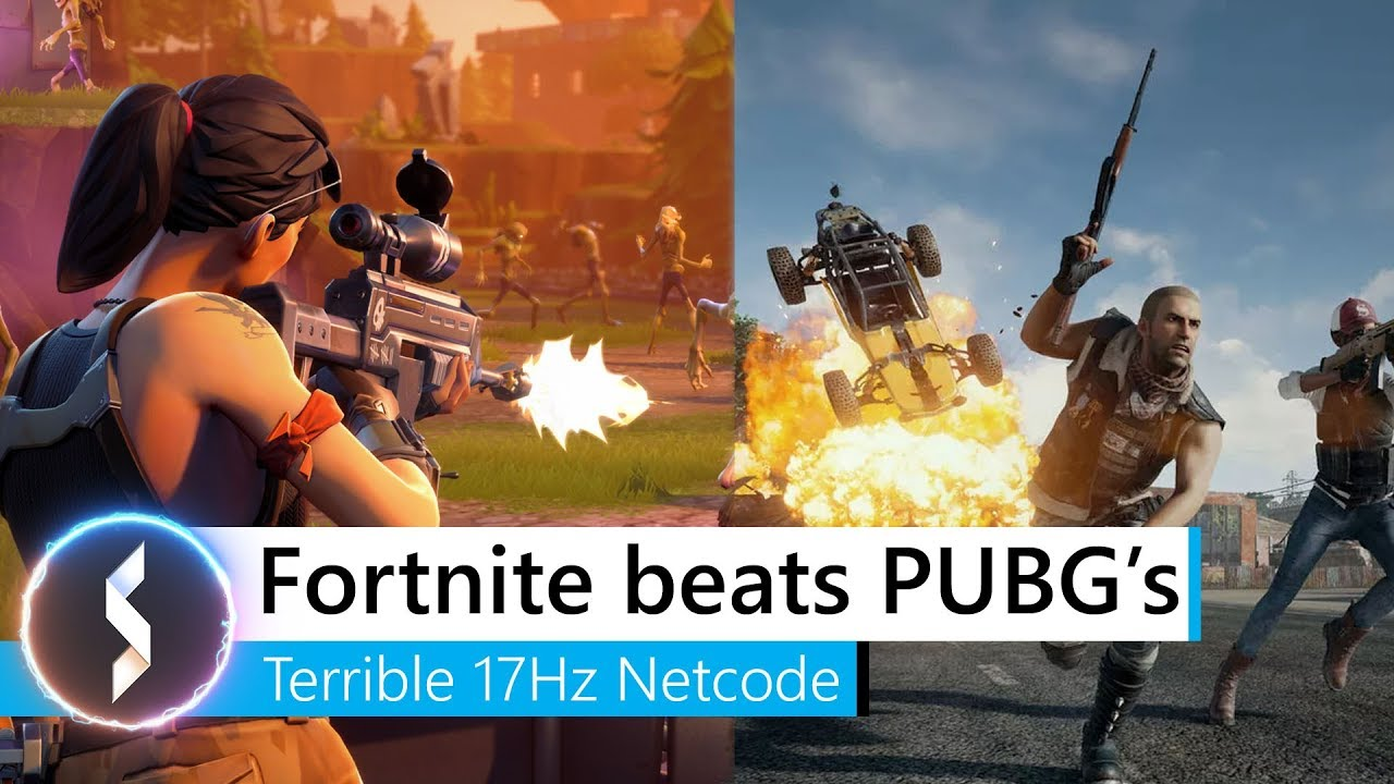 Pubg V Fortnite: Fortnite Beats PUBG 's Terrible 17Hz Netcode
