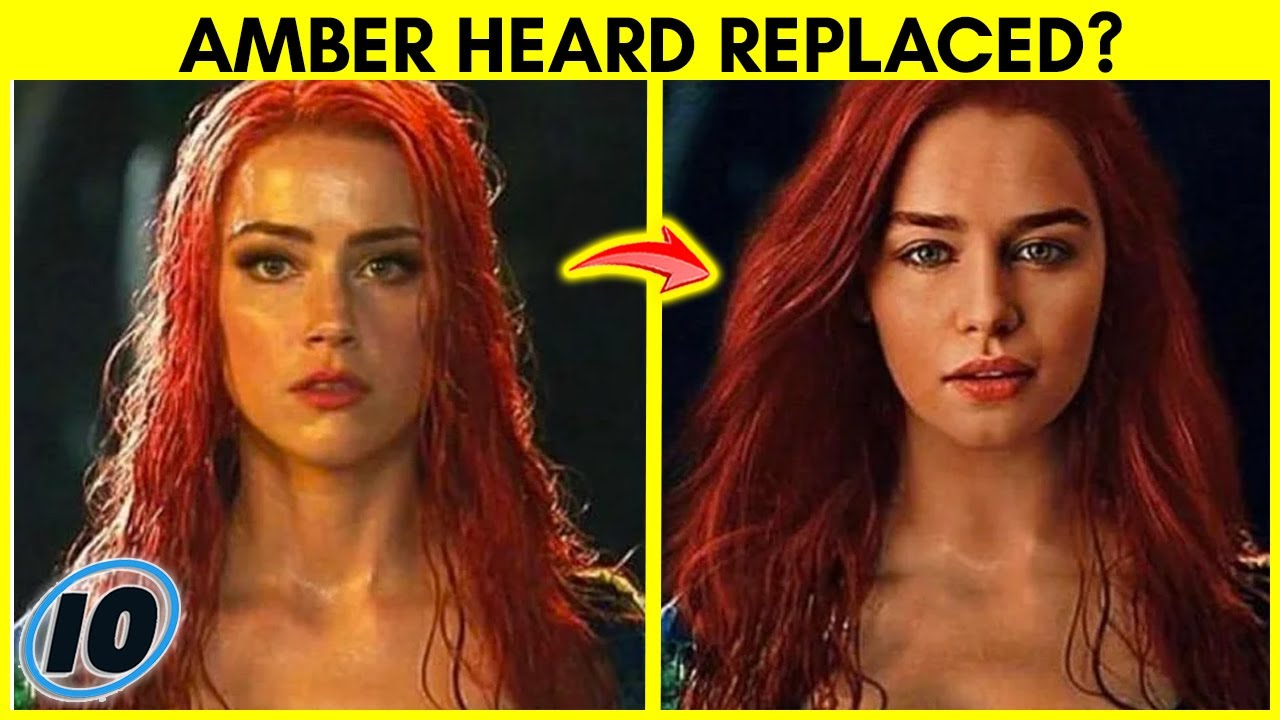 Amber Heard Replaced By This Actress In Aquaman 2 Youtube