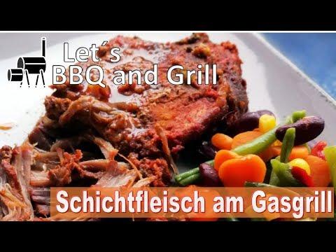Pulled Pork Gasgrill Dutch Oven : Schichtfleisch im dutch oven vom gasgrill youtube
