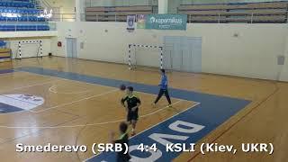 Handball. Smederevo (SRB) - KSLI (Kiev, UKR). U16 boys. TROPHY-2018. Smederevo.