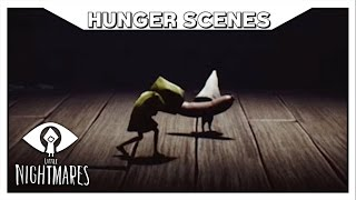 LITTLE NIGHTMARES - All Hunger Scenes (Six