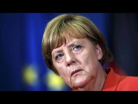 Merkel breaks off dealing with Greece to visit Balkans