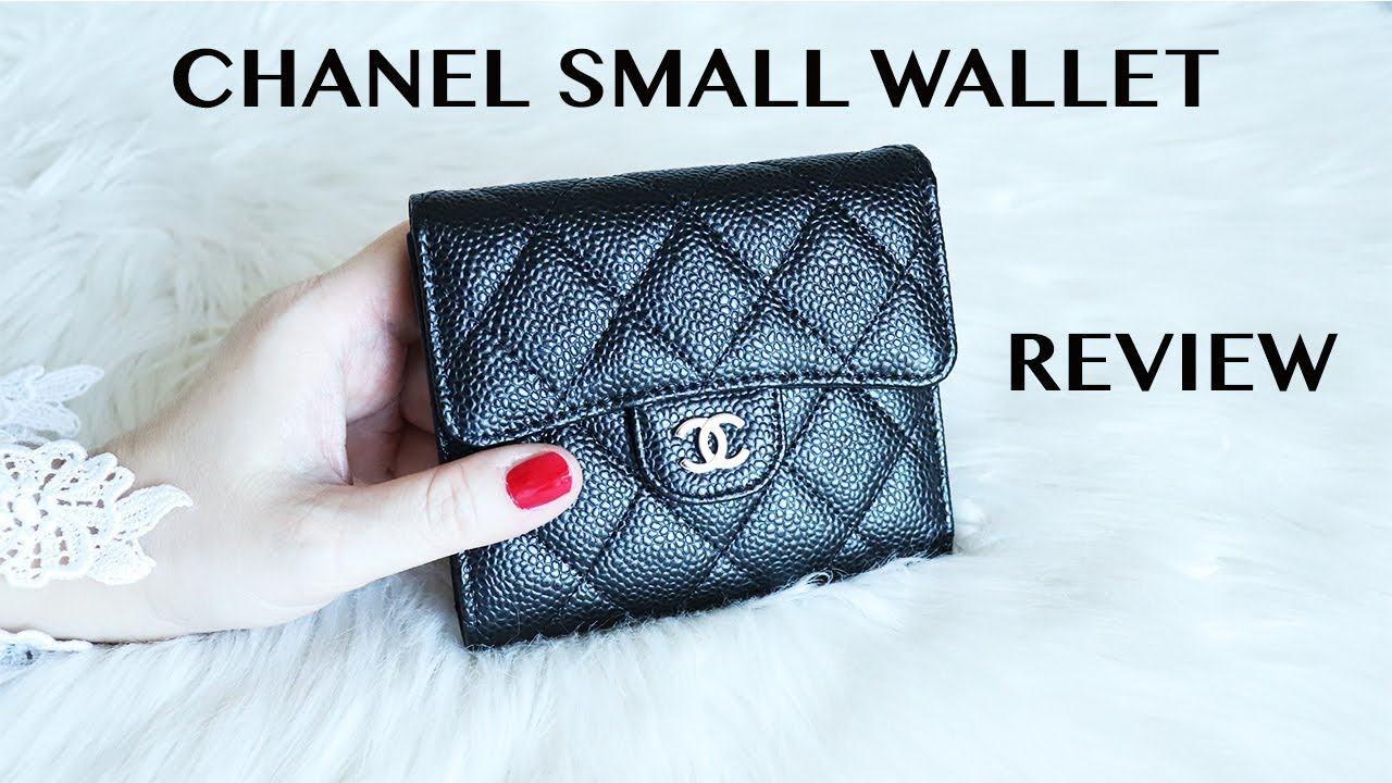0e27db65740b CHANEL SMALL WALLET || REVIEW || COMPARISON - YouTube