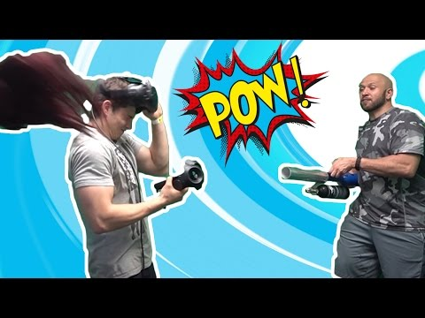 VIRTUAL REALITY GAMES - HOW TO PRANK