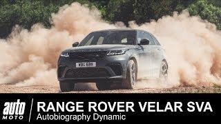Range Rover VELAR SVA V8 550 ch ESSAI POV Auto-Moto.com