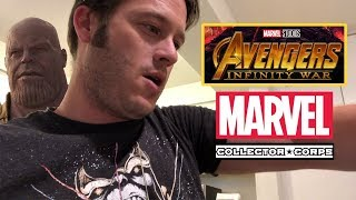 Adult Male Unboxes MARVEL COLLECTOR CORPS