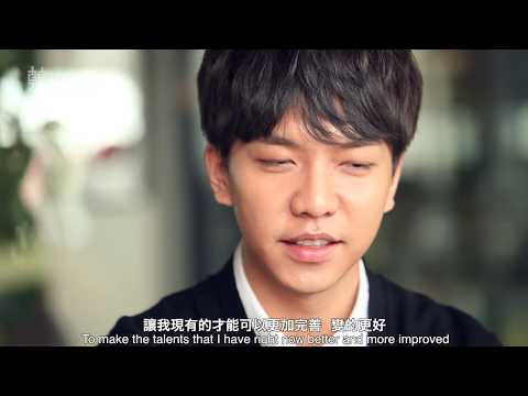 LEE SEUNG-GI's Greatest Fear and Care - 이승기 李昇基的內心世界 (ENG SU