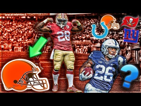 Carlos Hyde Signs With Cleveland Browns -- Who Drafts Saquon Barkley Now? | My Reaction