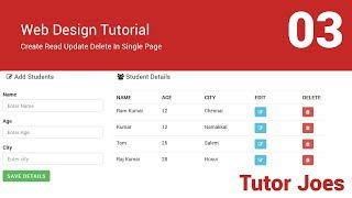 Insert Data Into MySQL Using jQuery AJAX With PHP