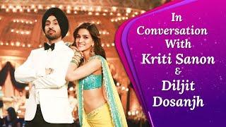Arjun Patiala Stars Kriti Sanon, Diljit Dosanjh Talk About Comic Timings, Fake Action Scenes & More