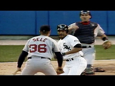 White Sox, Red Sox throw down after George Bell hit by pitch
