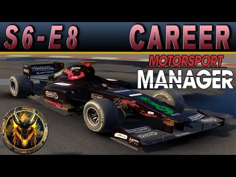 Motorsport Manager PC Career Mode S6E8 - SHE WENT RIGHT THROUGH THEM!