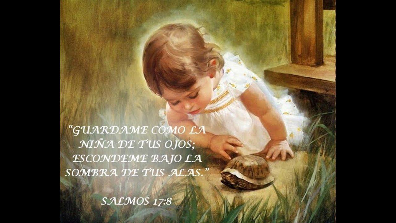niña de sus ojos biblia