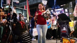 MY LOPELY-Nurul Feat Redeem Buskers Cover Ayu Ting Ting
