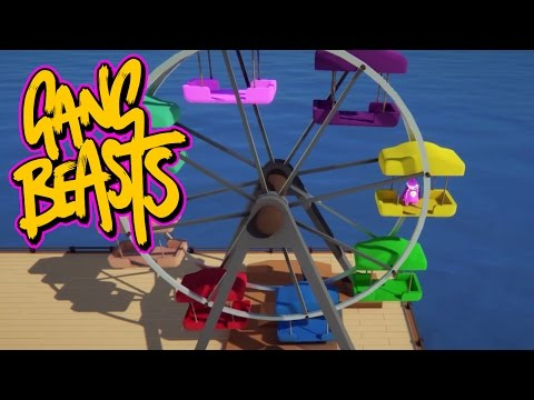 Gang Beasts - Ferris Wheel Challenge [Father and Son Gameplay]