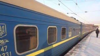 ЧС7-086 с поездом Днепропетровск-Москва