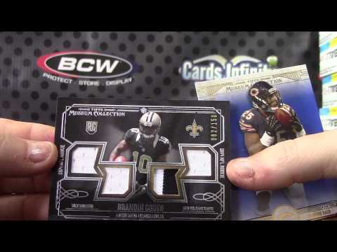 2014 Topps Museum Football 12 Box Case Break GB 1