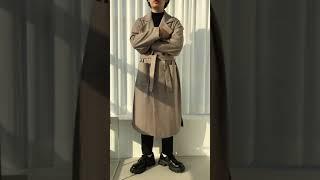 남친룩 로브 헤링본 데일리룩 봄 남자 코트 코디 추천 …