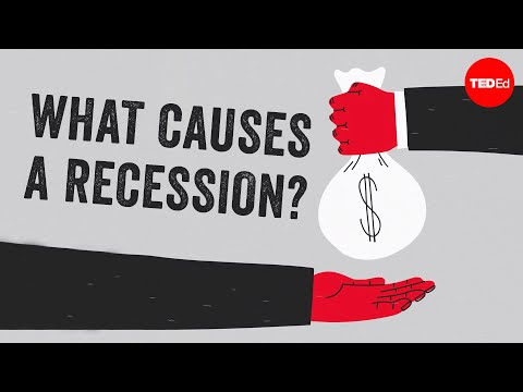 Video image: What causes an economic recession? - Richard Coffin