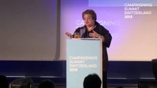 Campaigning Summit Switzerland 2015 – Celinda Lake