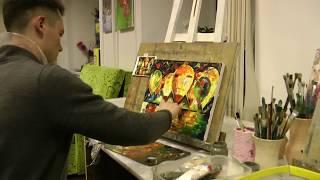 Уроки рисования в студии живописи