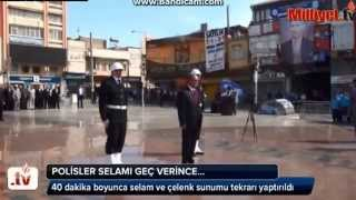 SELAM KRİZİ (POLİS SELAMI VERMEYİ UNUTUNCA )