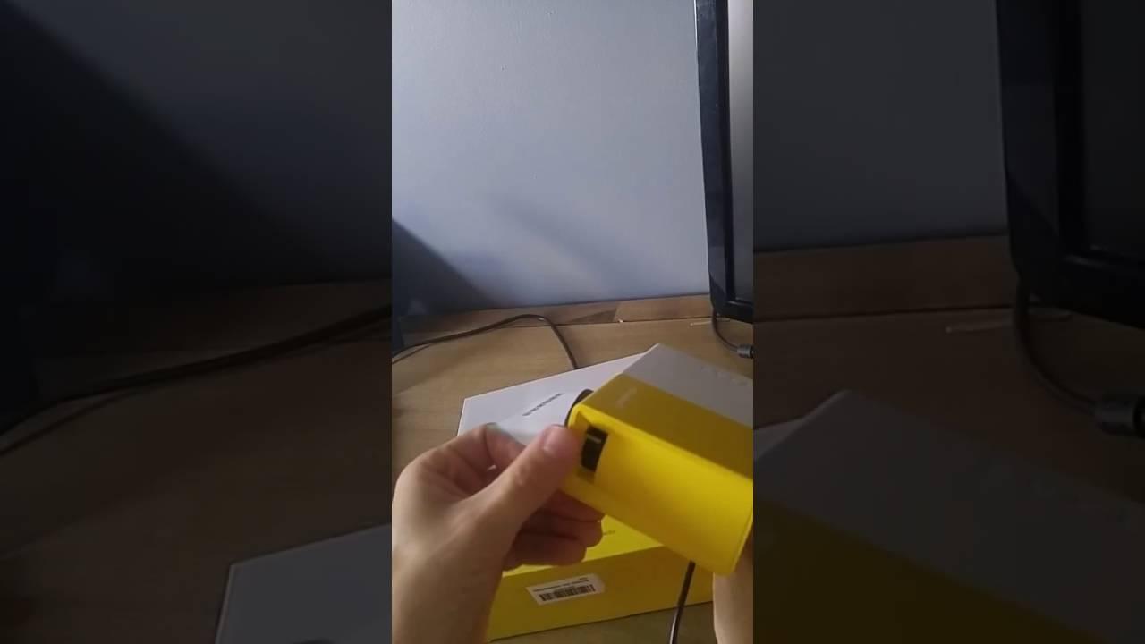 Mini Projector - InnerTeck Portable LED Projector Home Cinema ...